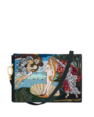 Venus Box Clutch Bag