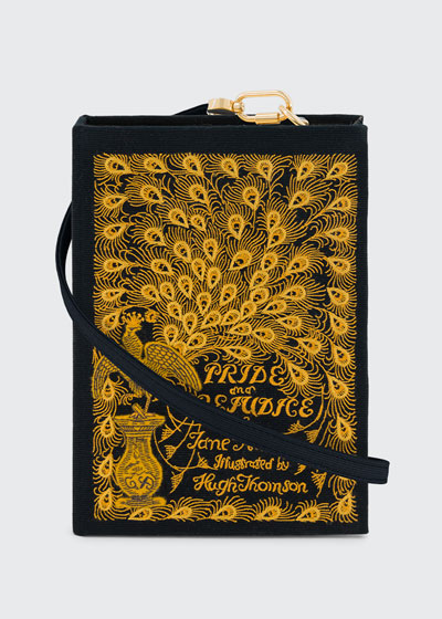 Pride And Prejudice Book Clutch Bag