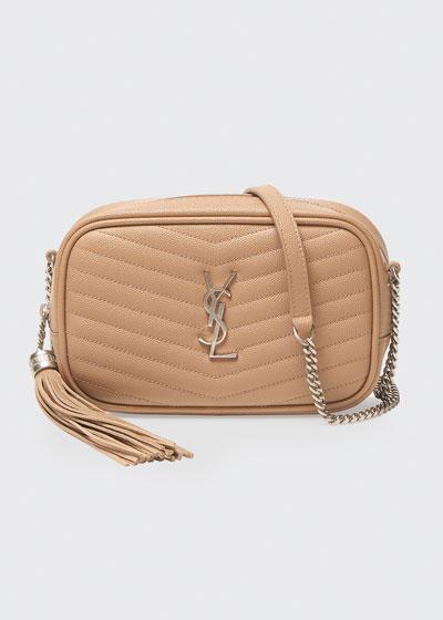 Lou Mini Monogram YSL Croco Camera Bag