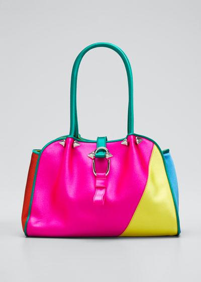 Ligia Small Shoulder Tote Bag