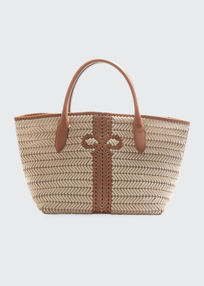 The Neeson Woven Rope Tote Bag