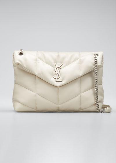 Loulou Medium YSL Flap Shoulder Bag