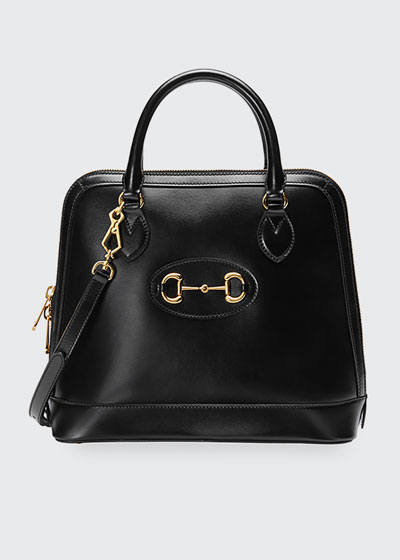 1955 Horsebit Medium Leather Top-Handle  Bag