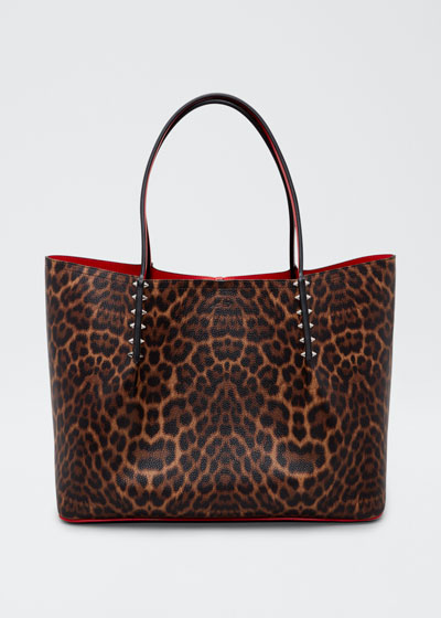 Cabarock Leopard-Print Large Shopper Tote Bag
