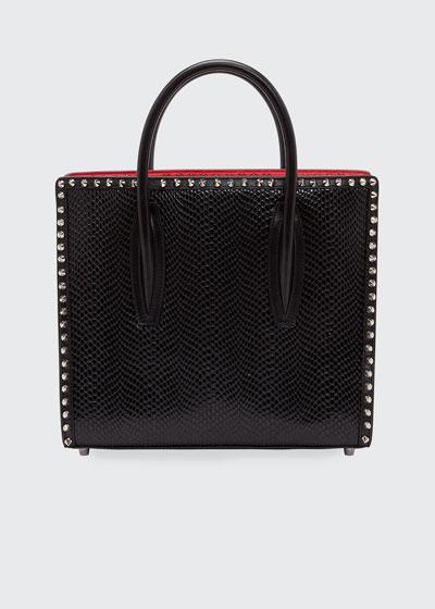 Paloma Small Jurassic Calf Spikes Top-Handle Bag