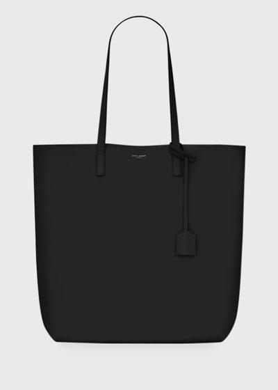 Leather Shopper Tote Bag