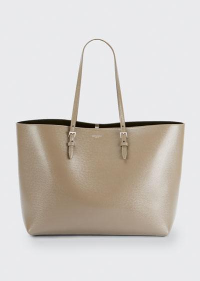 Boucle Shoulder Tote Bag