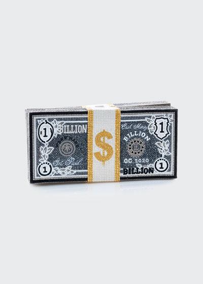 Stack Of Cash Billions Clutch Bag