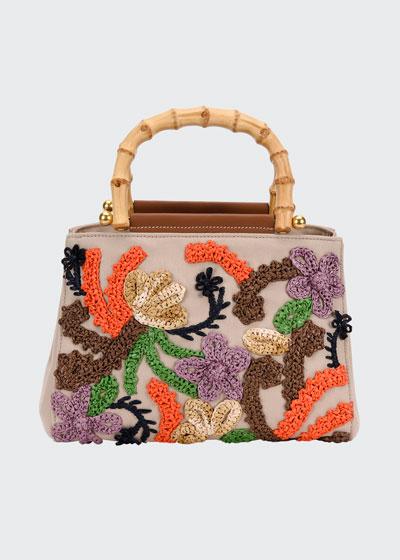 Canapa Bamboo-Handle Bag