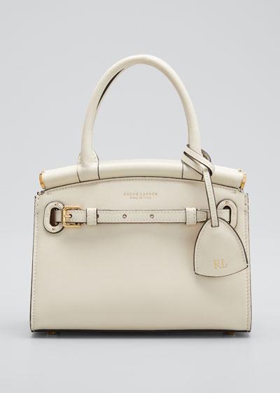 RL 50 Mini Soft Luxe Leather Satchel Bag