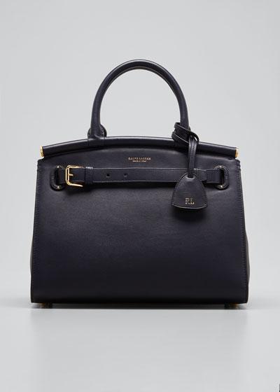Medium RL Top Handle Satchel Bag