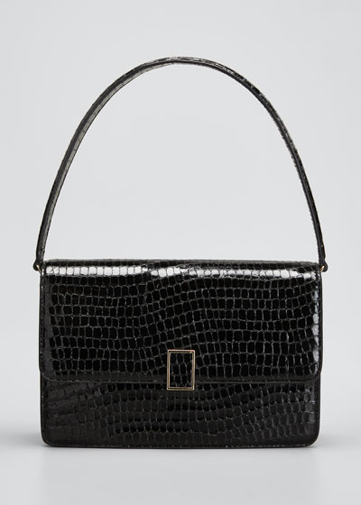 Katalina Moc-Croc Shoulder Bag