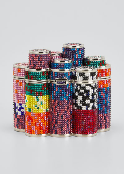 Coins Stack Poker Chips Clutch Minaudiere