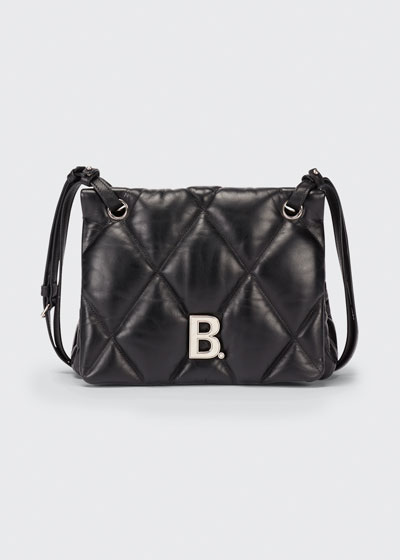 Touch Quilted Leather Shoulder Bag