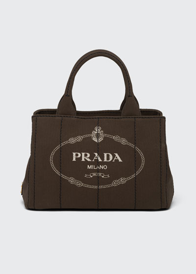 Small Denim Tote Bag with Logo