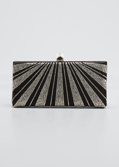 Celeste Disco Embellished Clutch Bag