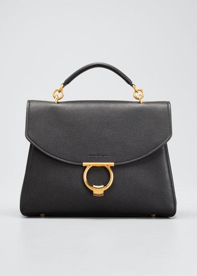 Margot Gancini Top Handle Satchel Bag