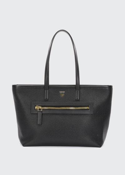Medium East/West Zip Tote Bag