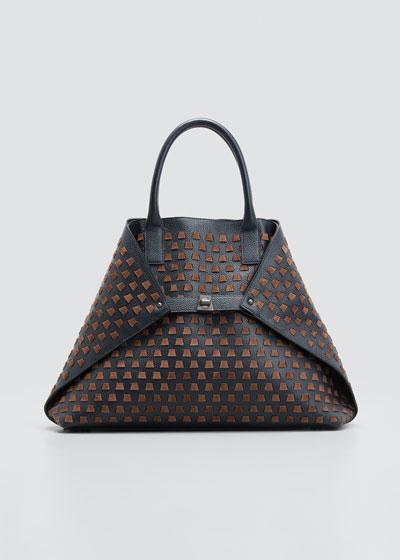 AI Medium Trapezoid Tote Bag