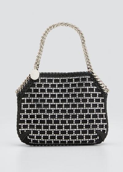 Mini Crystal Stud Shoulder Bag