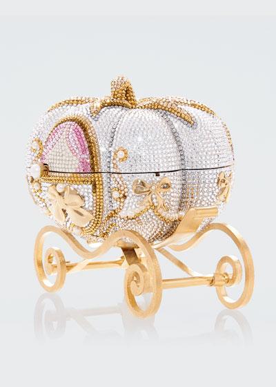 Pumpkin Carriage Clutch Bag