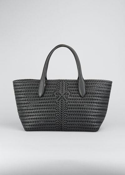 The Neeson Woven Capra Tote Bag