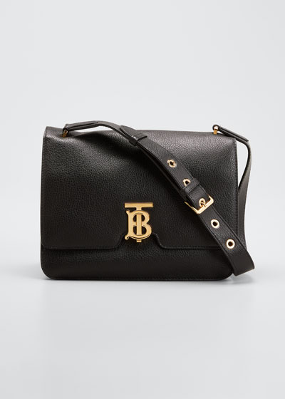 Alice TB Leather Shoulder Bag