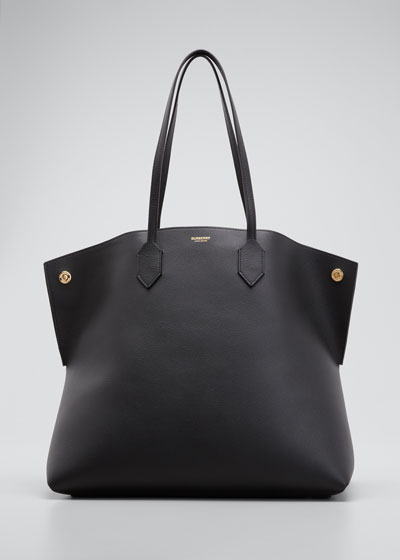 Society Leather Tote Bag