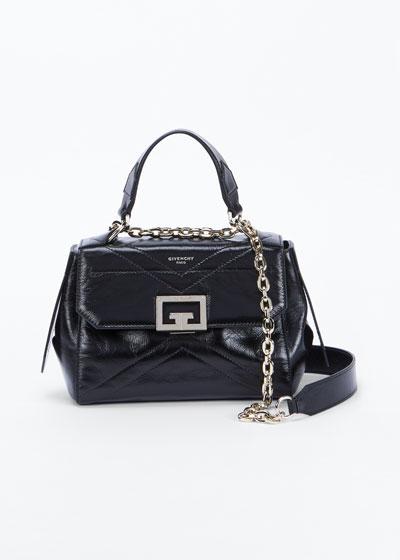 ID Medium Creased Shoulder Bag