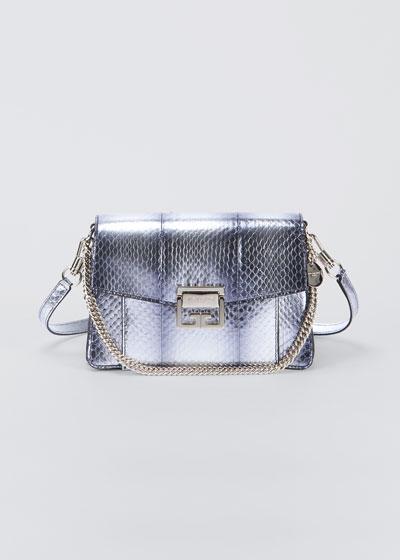 GV3 Small Snakeskin Shoulder Bag