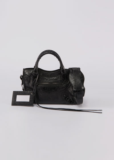 Mini City AJ Satchel Tote Bag