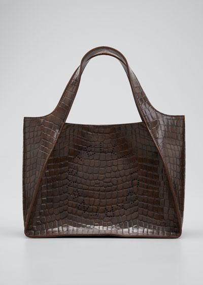 Eco Alter Croc Crossbody Tote Bag