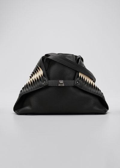 Ai Small Pleats Shoulder Tote Bag