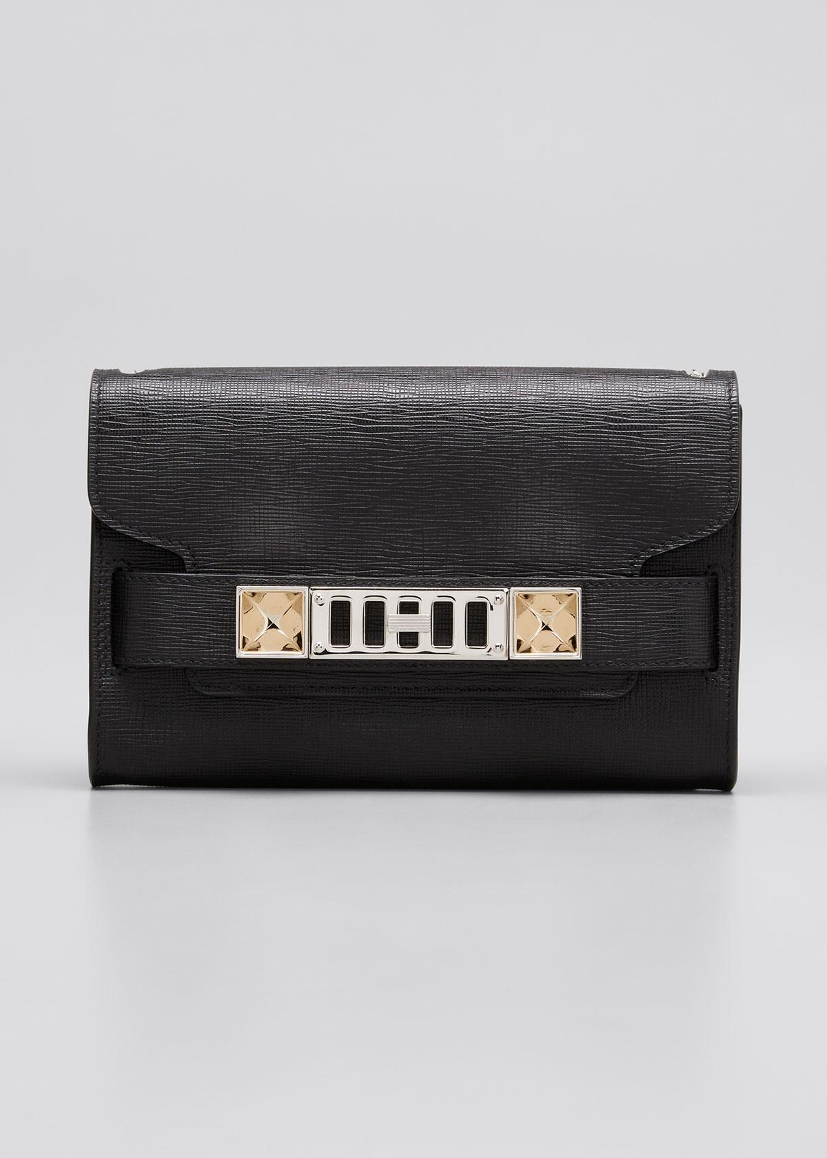 Proenza Schouler Chain Ps11 Clutch Bag In 0000 Black