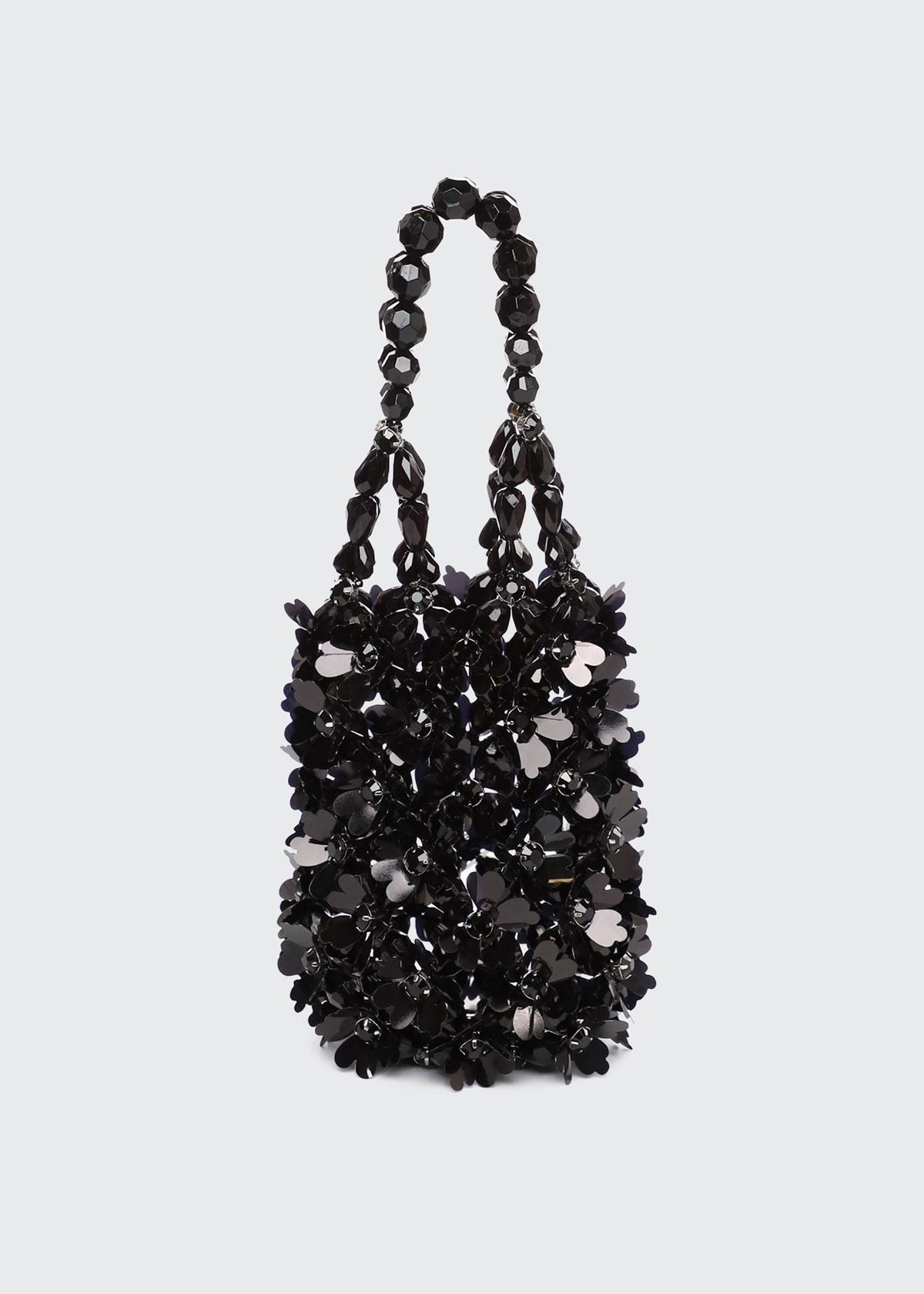 Simone Rocha Bags BEADED BINDLE SHOULDER BAG