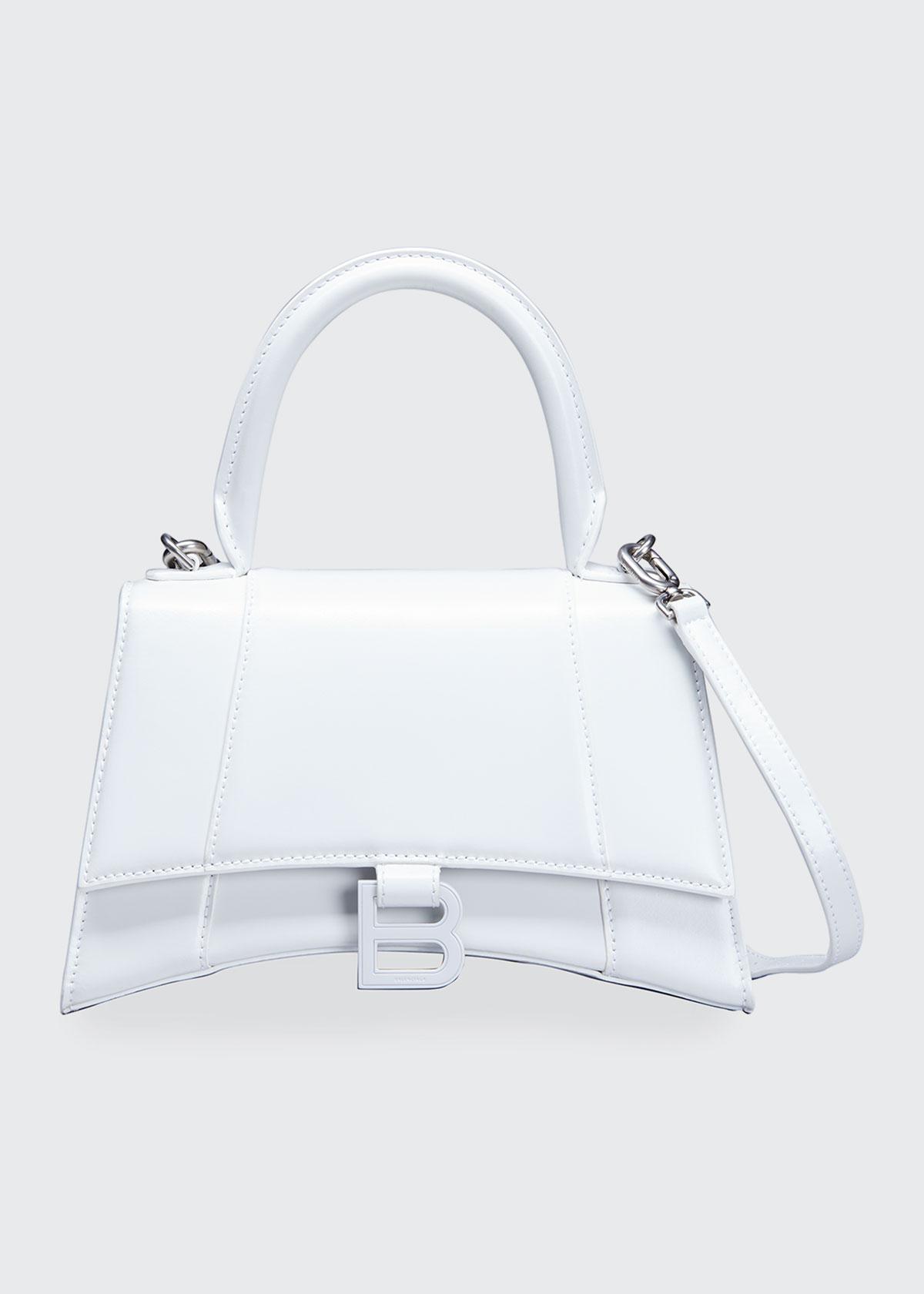 Balenciaga Leathers HOURGLASS SMALL TOP-HANDLE BAG