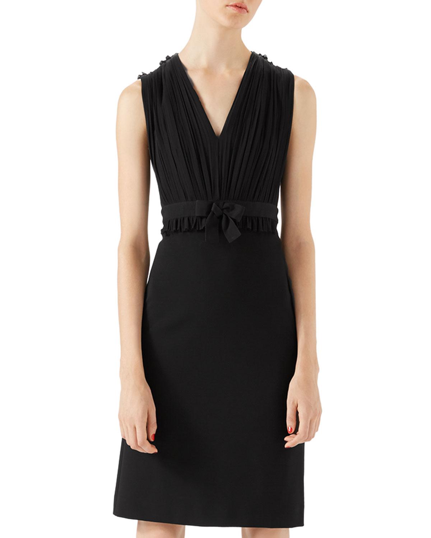 Viscose Jersey Dress, Black