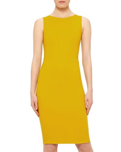 Fitted Sleeveless Dress, Xanthoria