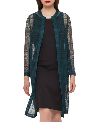 Hadil Lace Long Jacket, Goodwood
