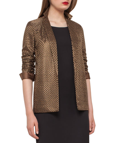 Icone St. Gallen Basketweave Jacket, Bronze
