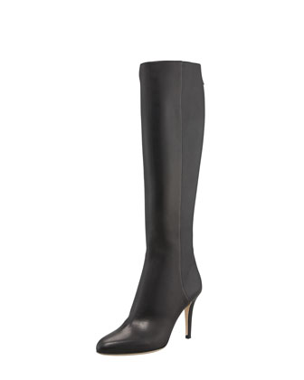 Grand Leather Boot, Black