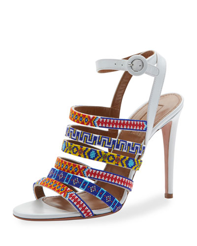 Masai Beaded 105mm Sandal