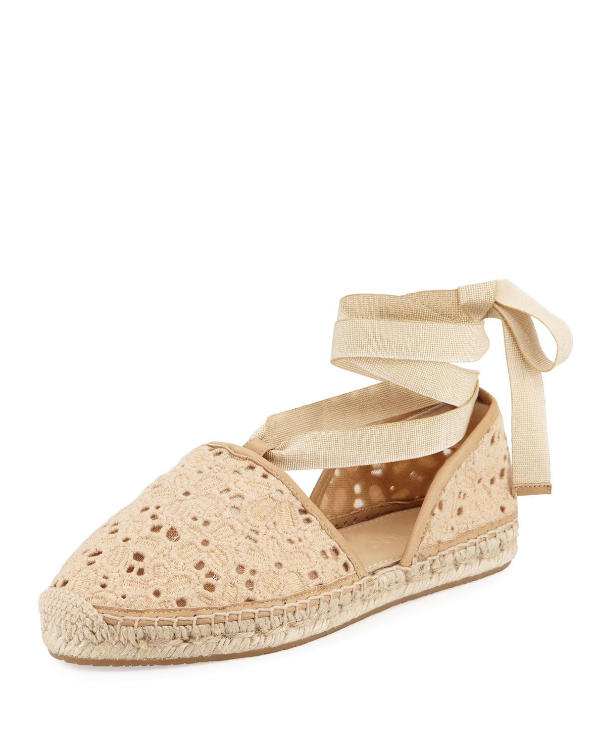 Dolphin Macrame d'Orsay Espadrille