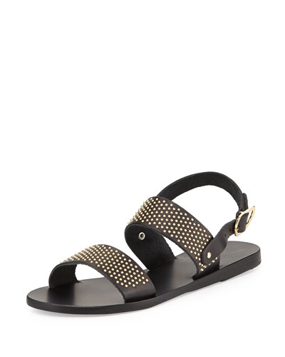 Dinami Studded Two-Band Sandal