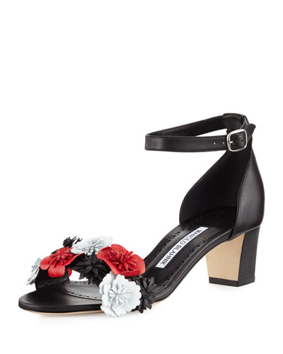 Laurfior Floral City Sandal