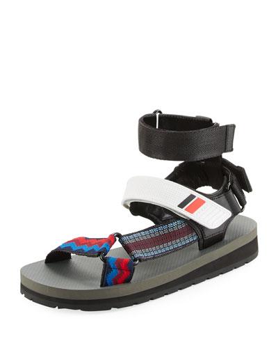 Grip-Strap Sport Sandal, Multi