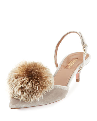 Powder Puff Pompom Pump