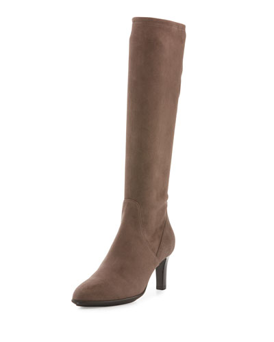 Diane Weatherproof Suede Knee Boot