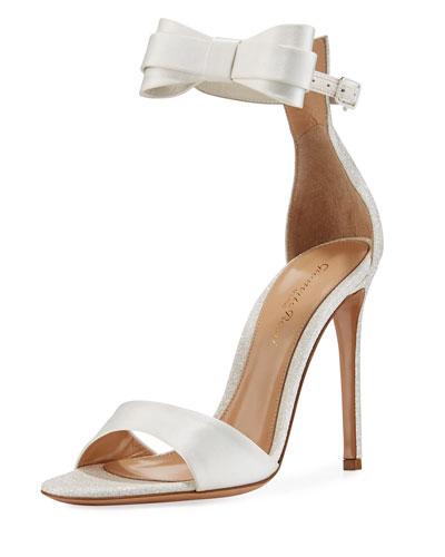 Satin Bow-Tie d'Orsay Sandal