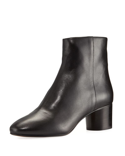 Danay Leather 50mm Ankle Boot